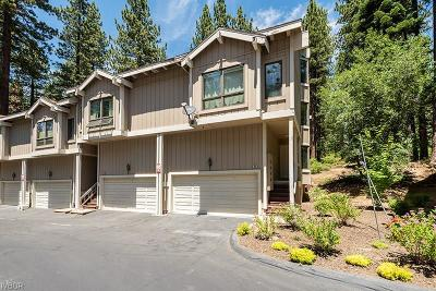 Incline Village NV Condo/Townhouse For Sale: $545,000