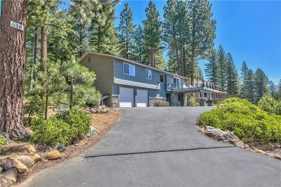 Incline Village Single Family Home For Sale: 618 Woodridge Circle