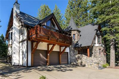Tahoe City CA Single Family Home For Sale: $1,599,000