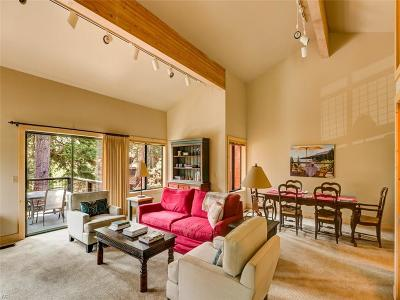 Tahoe City Condo/Townhouse For Sale: 1877 North Lake Blvd. #79
