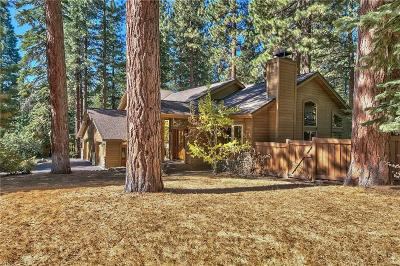 Incline Village Single Family Home For Sale: 363 Winding Way