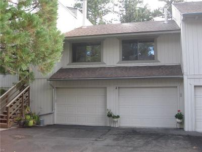 Incline Village NV Condo/Townhouse For Sale: $475,000