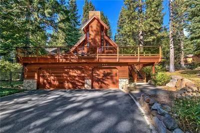 Incline Village Single Family Home For Sale: 780 Lakeshore Boulevard