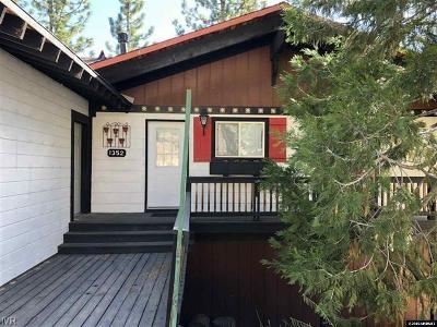 Incline Village NV Single Family Home For Sale: $545,000