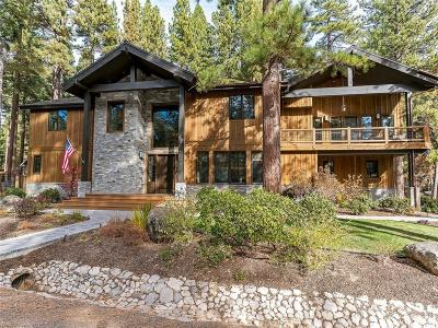 Incline Village Single Family Home For Sale: 1096 Tiller