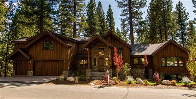 Incline Village Single Family Home For Sale: 665 Martis Peak Road