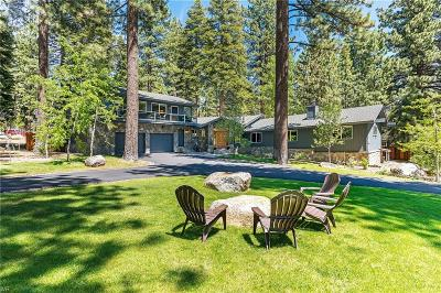 Incline Village Single Family Home For Sale: 615 Fourteenth Green