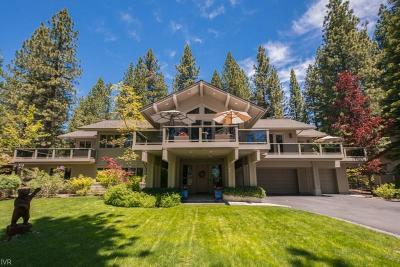 Incline Village NV Single Family Home For Sale: $3,595,000