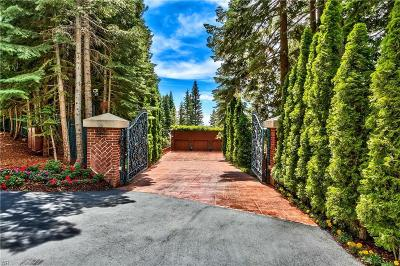 Incline Village NV Single Family Home For Sale: $9,850,000