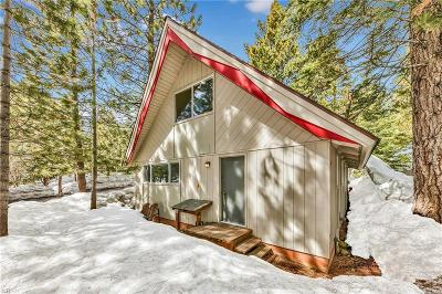 Incline Village Single Family Home For Sale: 599 Crest Lane #55