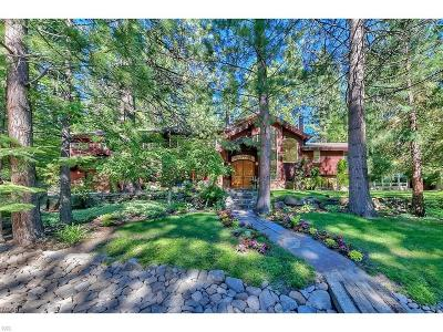 Incline Village Single Family Home For Sale: 130 Rubicon Peak Lane