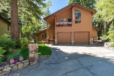 Incline Village Single Family Home For Sale: 809 Snead Court