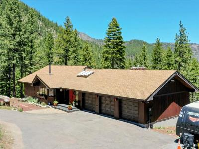 Reno Single Family Home For Sale: 20000 Mount Rose Highway