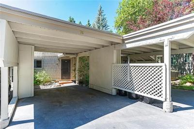 Incline Village NV Condo/Townhouse For Sale: $319,000