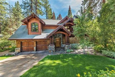 Incline Village NV Single Family Home For Sale: $4,299,000