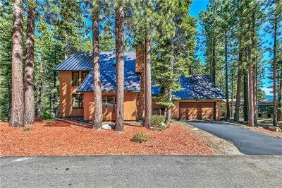 Incline Village Single Family Home For Sale: 981 Galaxy Way