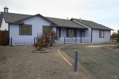 Fernley NV Single Family Home Sold: $205,000