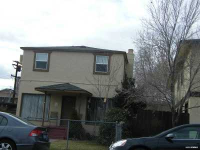 Sparks Multi Family Home For Sale: 1539 G St.