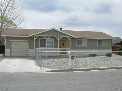 Yerington NV Single Family Home Sold: $74,000