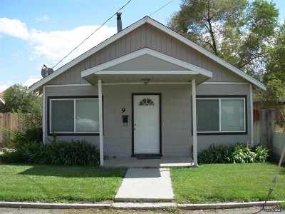 Yerington NV Single Family Home Sold: $65,000
