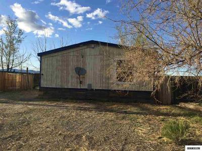 Reno Manufactured Home Active/Pending-Short Sale: 495 Compton