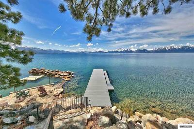 Zephyr Cove Single Family Home For Sale: 654 Lakeshore Blvd