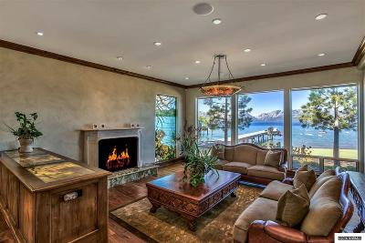 Zephyr Cove NV Single Family Home For Sale: $12,988,000