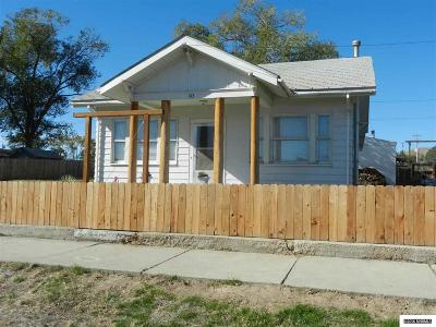 Winnemucca Single Family Home For Sale: 143 N Bridge Street