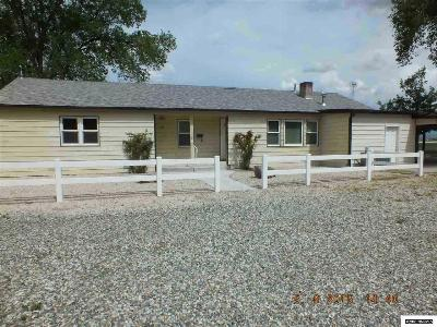 Yerington Single Family Home For Sale: 512 Madden