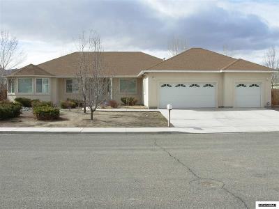Yerington NV Single Family Home Sold: $269,000