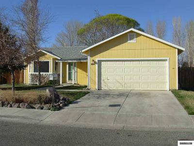 Yerington NV Single Family Home Sold: $110,000