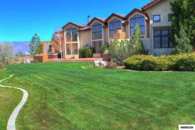 Washoe Valley Single Family Home For Sale: 5 Lake Meadow Lane