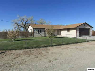 Yerington NV Single Family Home Sold: $159,000