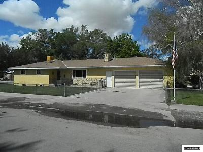 Yerington NV Single Family Home For Sale: $192,500