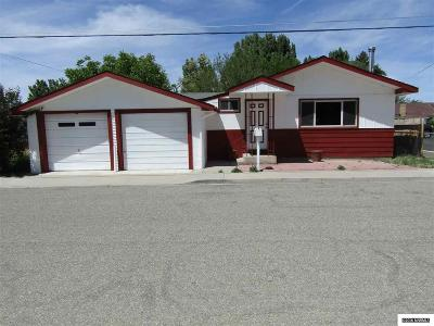 Yerington NV Single Family Home Sold: $108,000