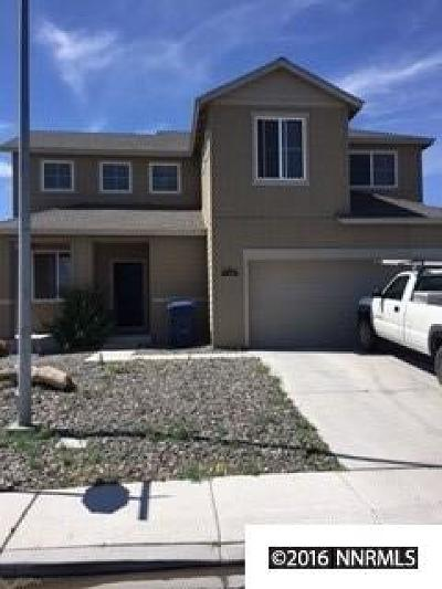 Fernley Single Family Home Active/Pending-Short Sale: 1481 Shadow Ln.