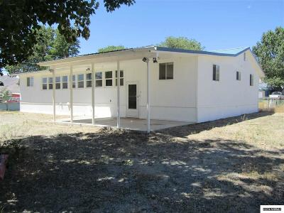 Yerington NV Single Family Home Sold: $90,000