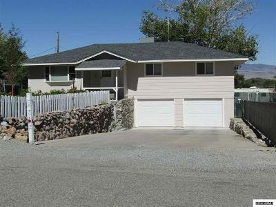 Yerington NV Single Family Home For Sale: $164,999