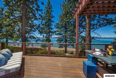 Zephyr Cove NV Single Family Home For Sale: $4,645,000