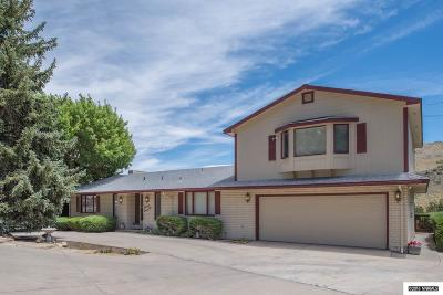 Carson City Single Family Home Active/Pending-Call: 11 Canyon Drive