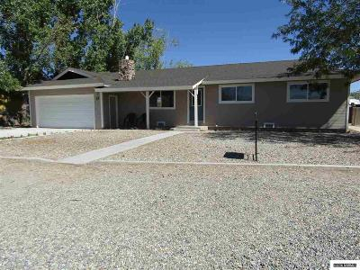 Yerington NV Single Family Home Sold: $155,000