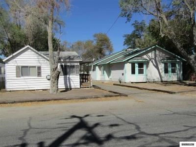 Yerington NV Single Family Home Sold: $120,000
