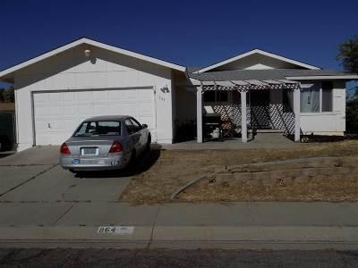 Single Family Home Sold: 864 Amador Circle