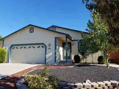 Washoe County Single Family Home Active/Pending-Short Sale: 5570 Fire Weed Ct.