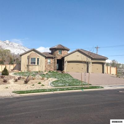 Genoa Single Family Home Active/Pending-Call: 2791 Voight Canyon Dr/Lot 34