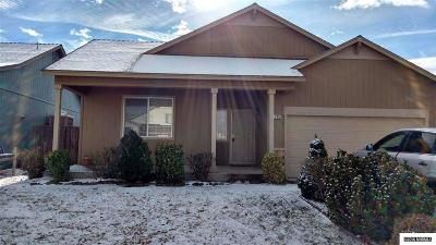 Fernley Single Family Home For Sale: 1295 Mountain Rose