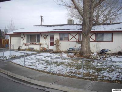 Fallon Single Family Home For Sale: 640 W B Street
