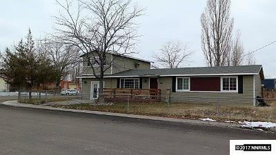 Battle Mountain Single Family Home Active/Pending-Loan: 375 Elquist Drive