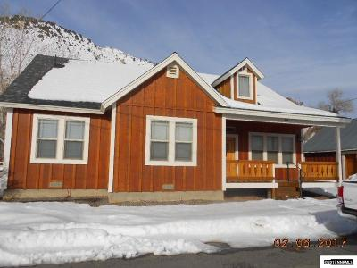 Virginia City Single Family Home For Sale: 450 S E Street