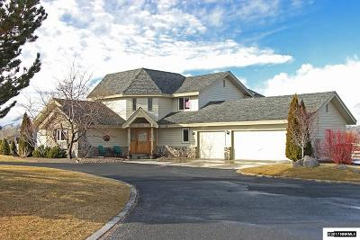 Gardnerville Single Family Home Active/Pending-House: 1630 East Valley Road
